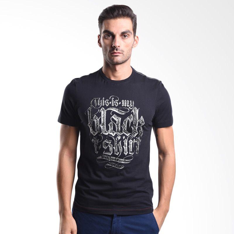 Watchout Jeans Embos Printed Detail 067 JK400670001 Black Kaos Pria