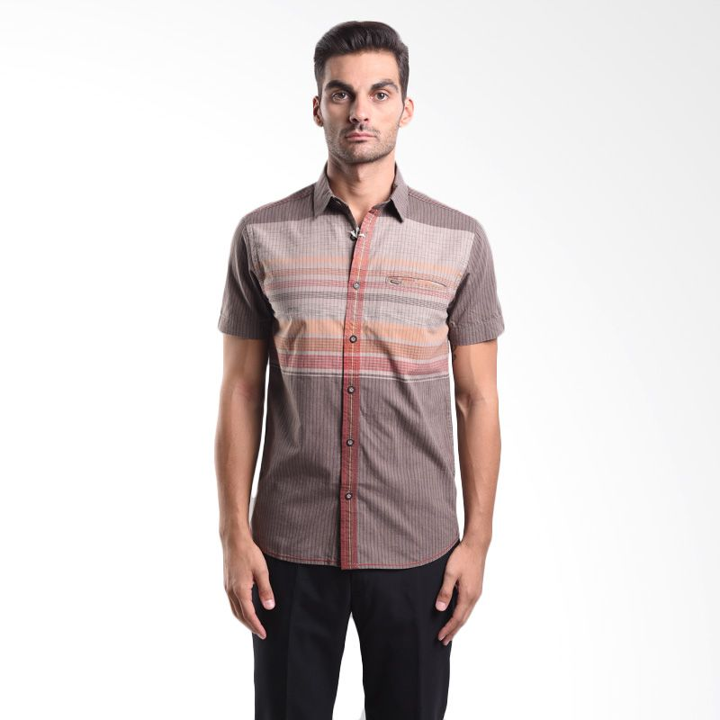 Watchout 1035 WS510350109 Olive Short Sleeve Shirts