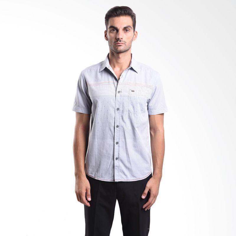 Watchout 1042 WS510420126 Blue Short Sleeve Shirts