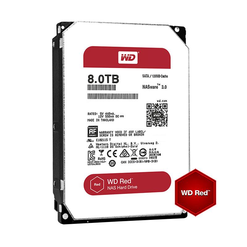 WD Caviar Hard Disk Internal NAS - Red [8 TB/5400 RPM] - 9290547 , 15495804 , 337_15495804 , 6280000 , WD-Caviar-Hard-Disk-Internal-NAS-Red-8-TB-5400-RPM-337_15495804 , blibli.com , WD Caviar Hard Disk Internal NAS - Red [8 TB/5400 RPM]