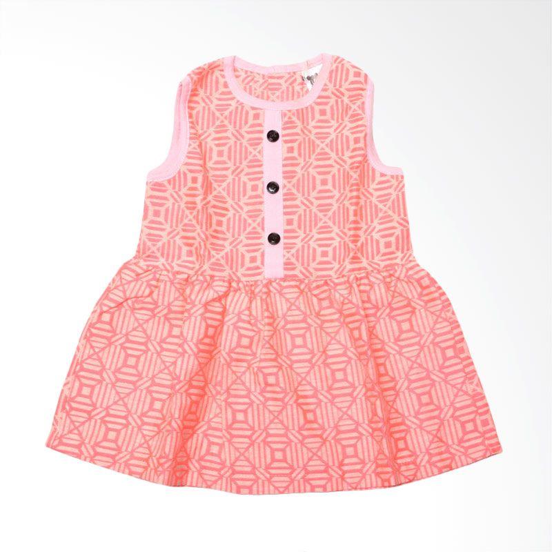 We Are Kids Samantha Orange Dress Anak-Anak