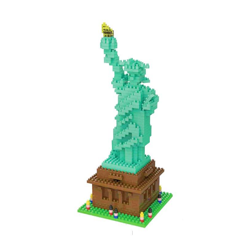 Weagle 2285 Statue Of Liberty Mainan Block & Puzzle