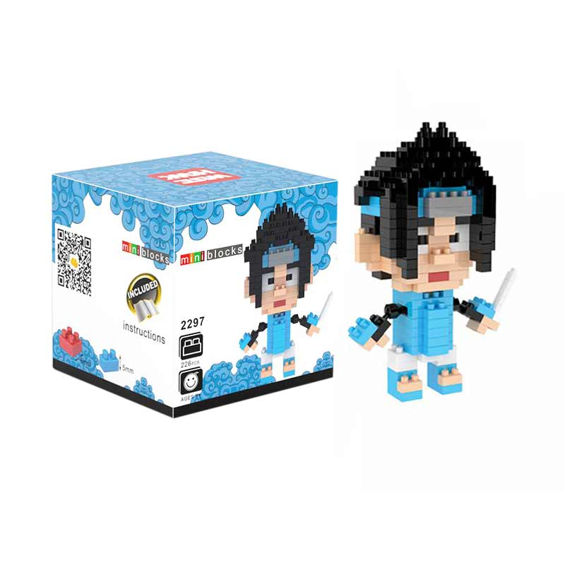 Weagle Box 2297 Sasuke Naruto Mainan Block & Puzzle