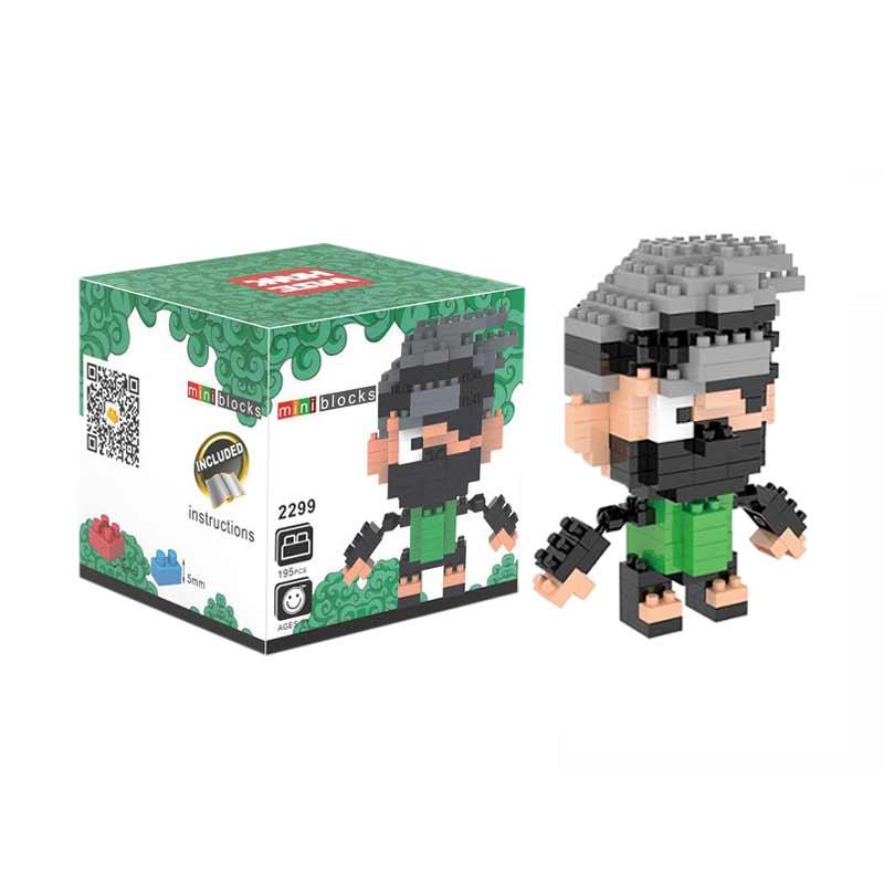 Weagle Box Kakashi 2299 Mainan Blok & Puzzle