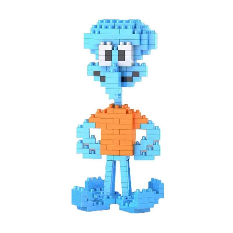WEAGLE M 2232 Squidward Mainan Blok & Puzzle
