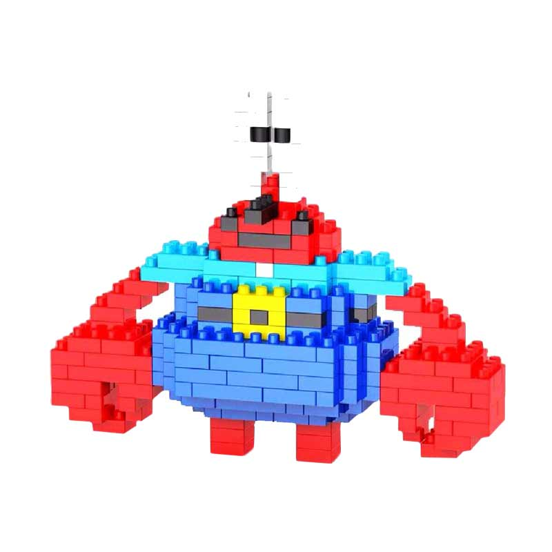 WEAGLE M 2235 Mr Krabs Mainan Blok & Puzzle