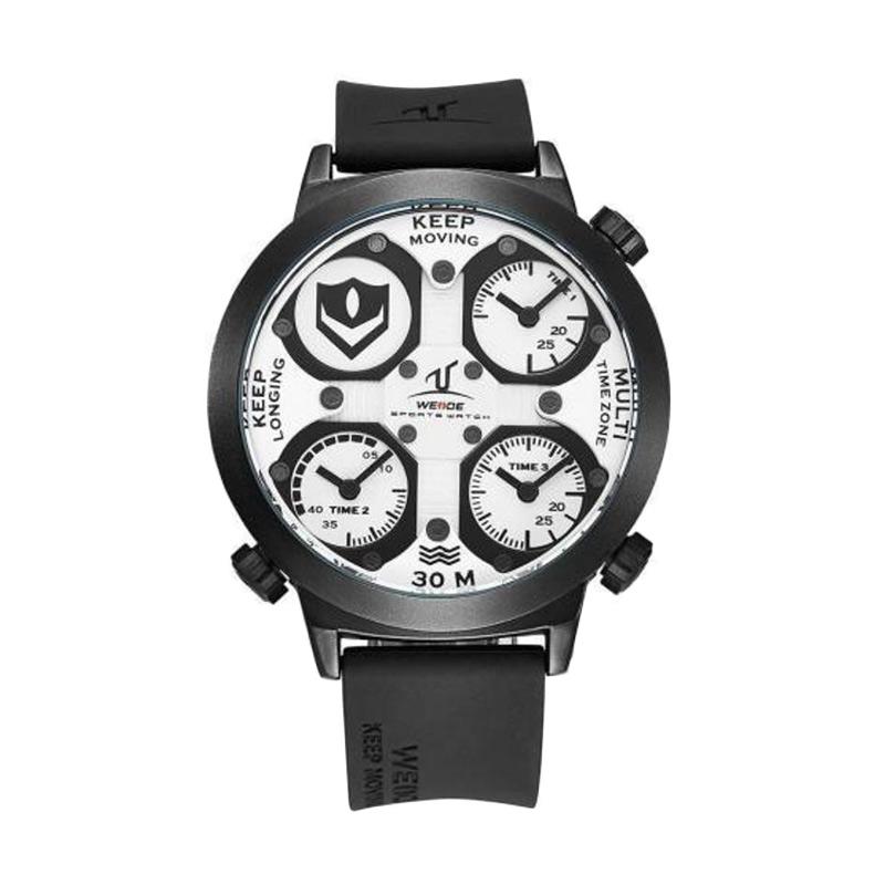 WEIDE UV-1503 Jam Tangan Pria - Putih