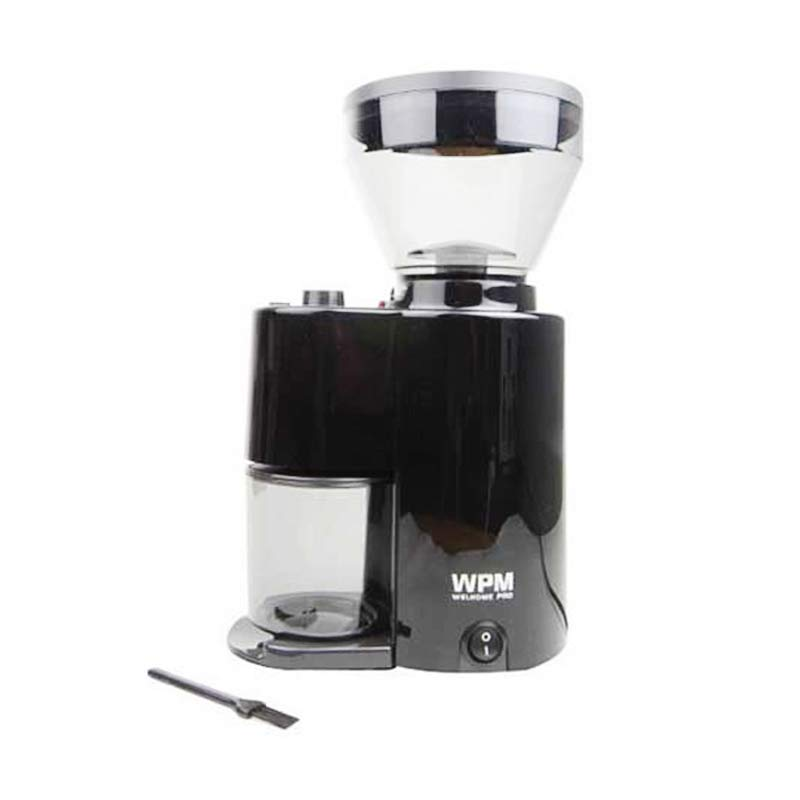 harga Welhome ZD-10 Coffee Grinder Conical Burr with Timer - Black Blibli.com