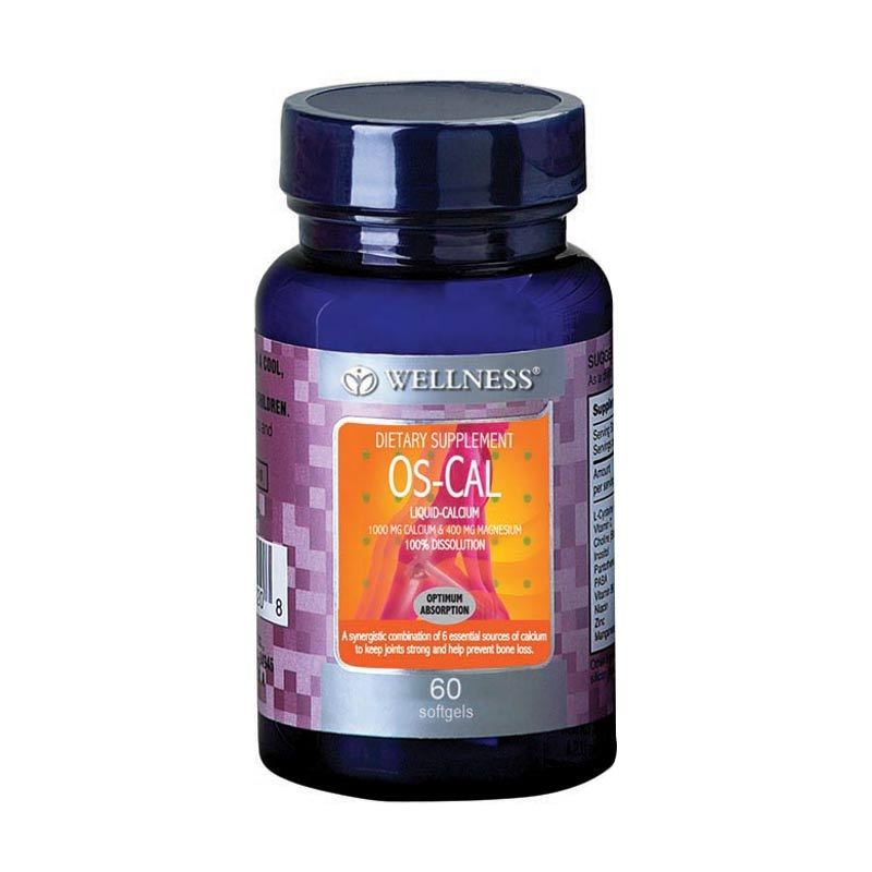 Wellness Os-Cal (60 Softgels)
