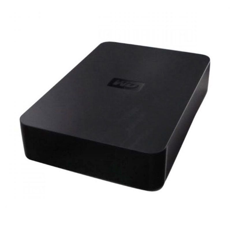WD Elements Black Hard Disk Eksternal [1 TB/3.5 inch/USB 2.0] + Kalender