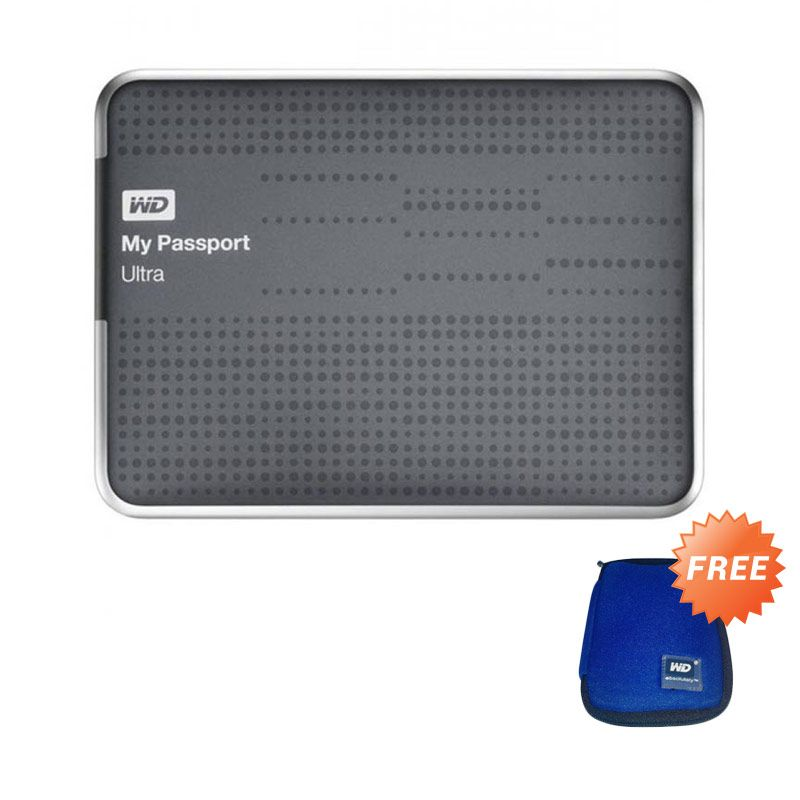 WD My Passport Ultra USB 3.0 Titanium Hard Disk [1 TB]