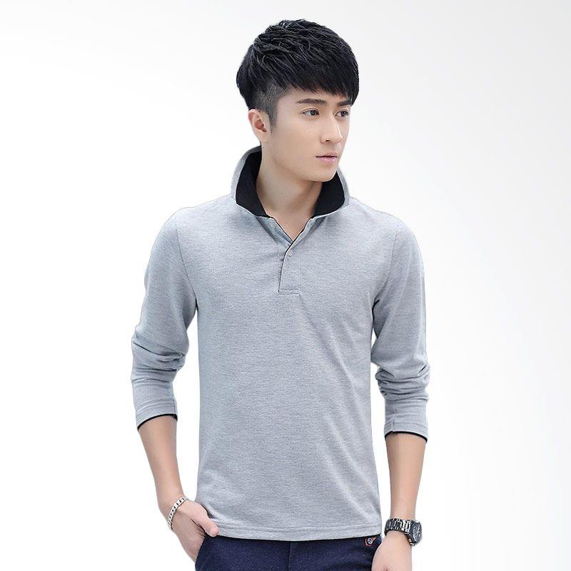 Upstyle Man 103 Gray Black Polo Kaos Pria Extra diskon 7% setiap hari Extra diskon 5% setiap hari Citibank – lebih hemat 10%