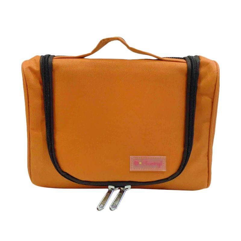 D'Cheryl Mini Toiletries Bag Organizer (MTBO-DC) Orange Pouch