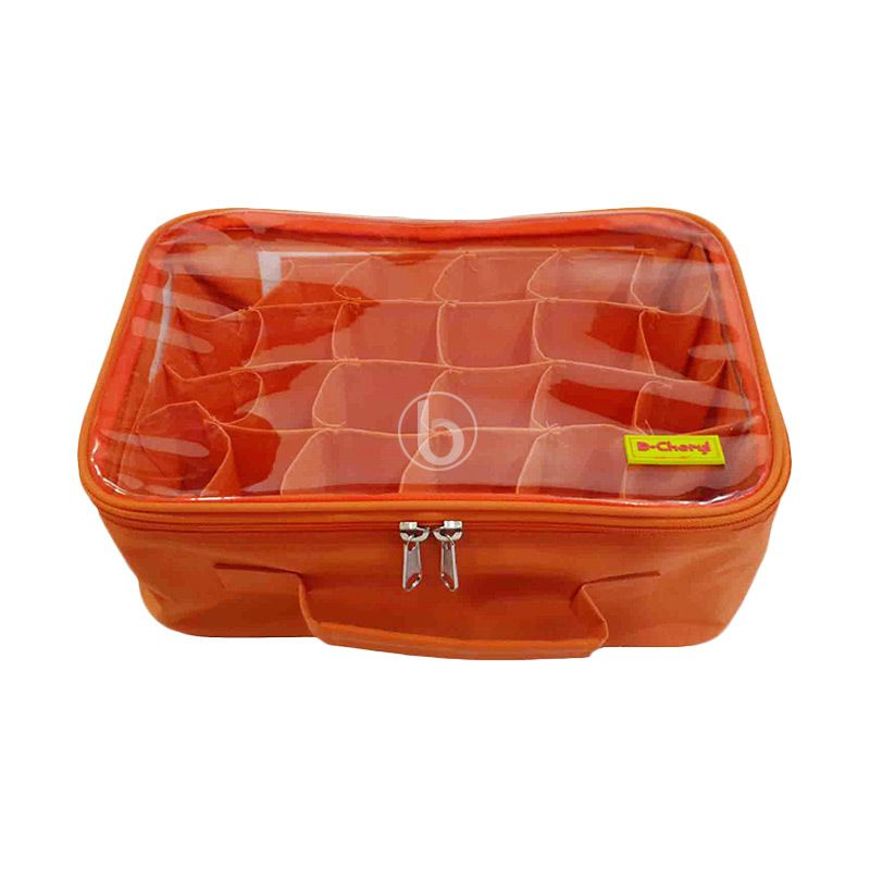 D'Cheryl MPCO-DC Orange Panties Case Organizer