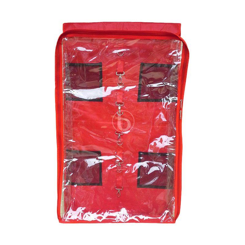 D'Cheryl BHO-DC Merah Organizer Bag Hanger Organizer