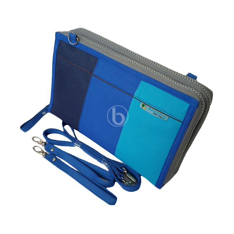 Morning DHPO-B Blue Pouch Organizer