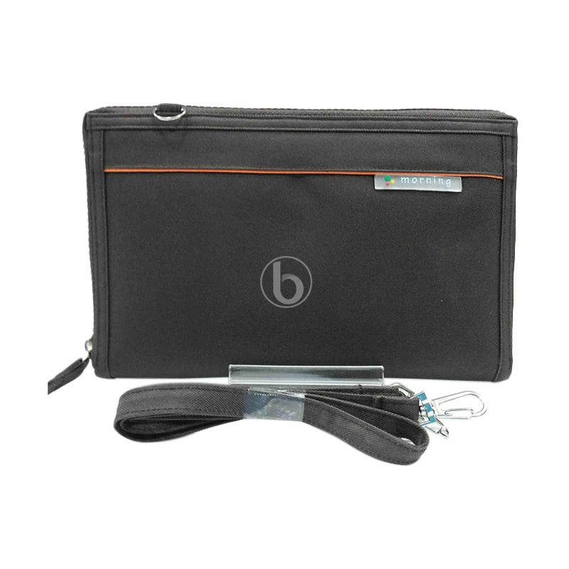 Morning Maxi Slim HPOMS-B Brown Pouch Organizer