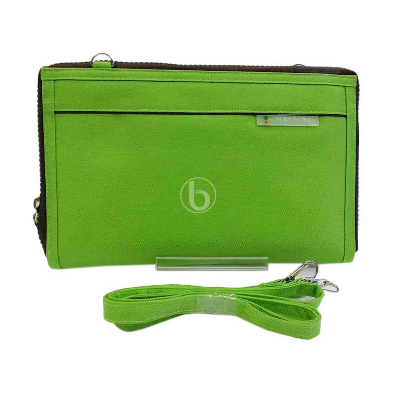 Morning Maxi Slim HPOMS-B Green Pouch Organizer
