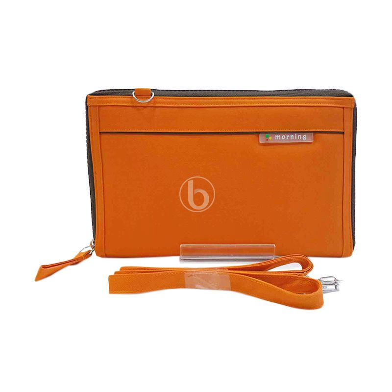Morning Maxi Slim HPOMS-B Orange Pouch Organizer