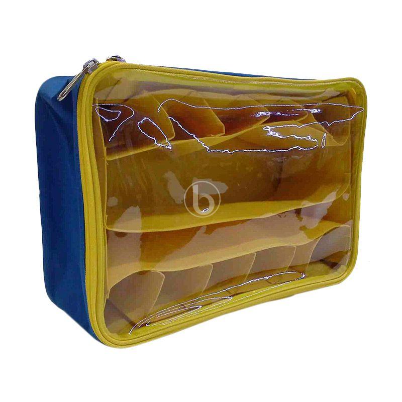 Moreniq MUCO-B Biru Kuning Mini Underwear Organizer