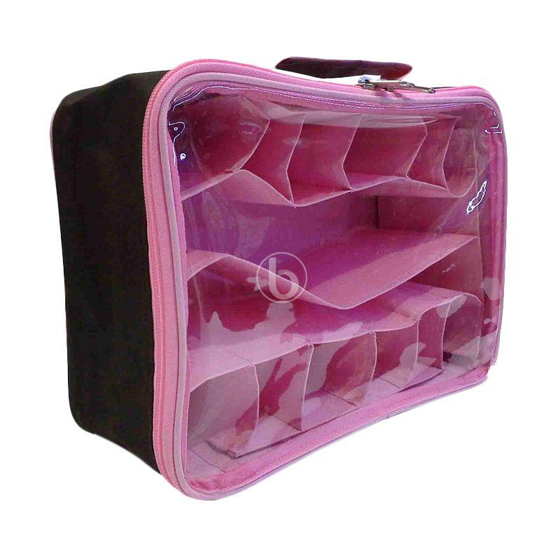 Moreniq MUCO-B Coklat Pink Mini Underwear Organizer