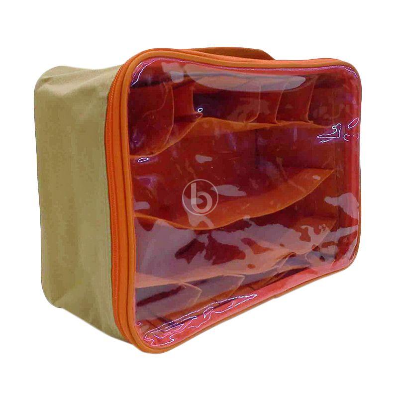 Moreniq MUCO-B Cream Orange Mini Underwear Organizer