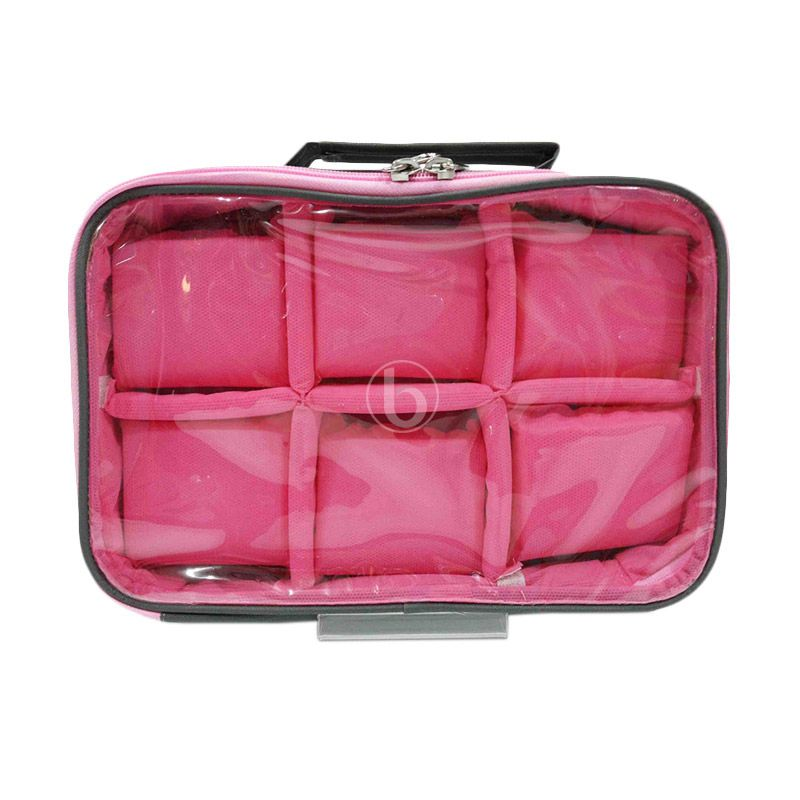 Moreniq WCO-B Grey Magenta Watch Case Organizer