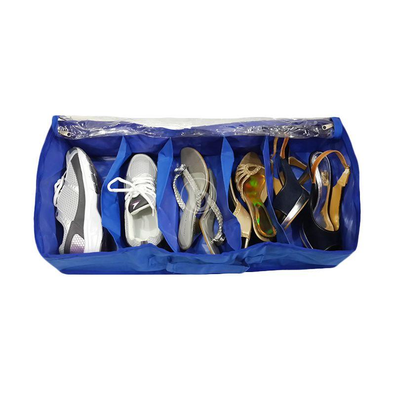 Morning SO5-B Biru Tua Shoes Organizer