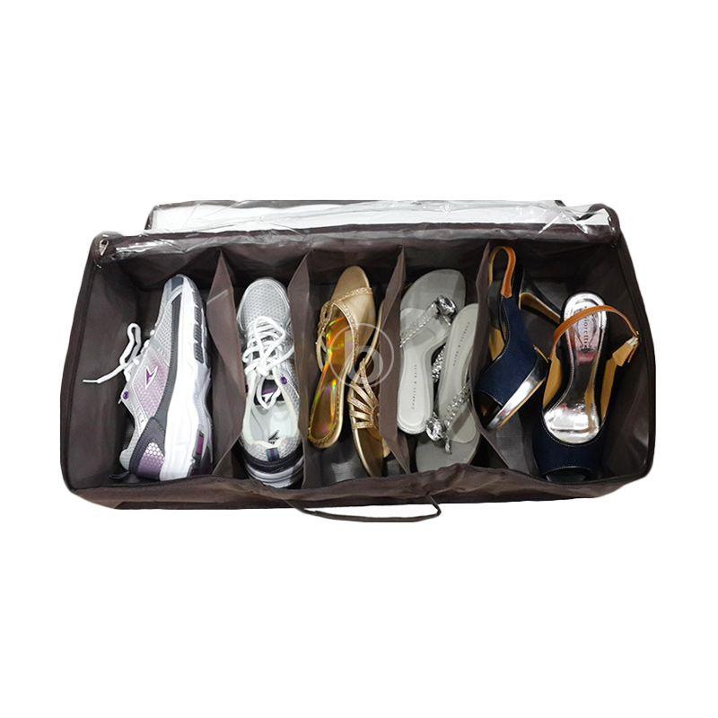 Morning SO5-B Coklat Shoes Organizer