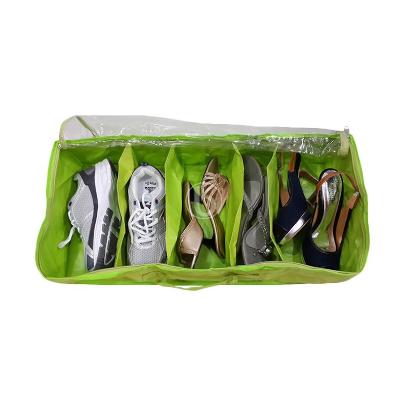 Morning SO5-B Hijau Shoes Organizer