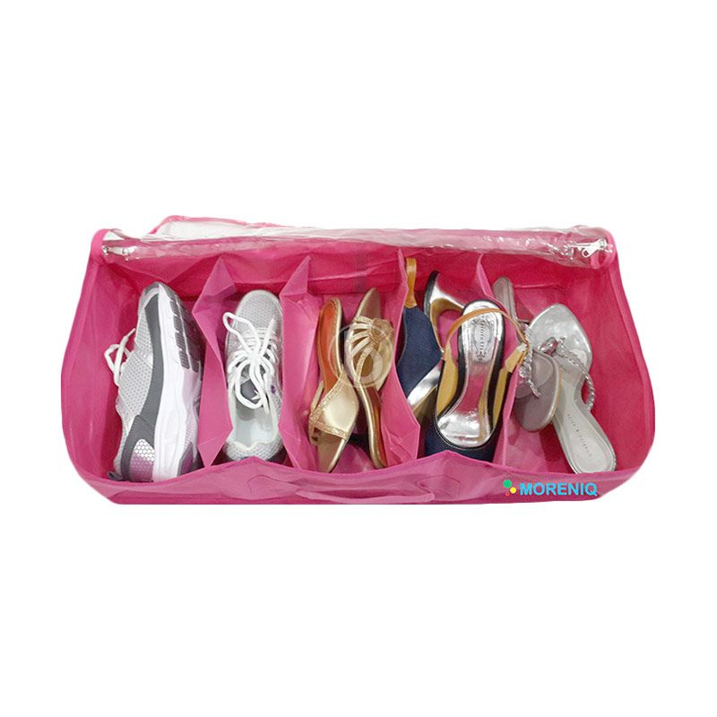 Morning SO5-B Pink Shoes Organizer