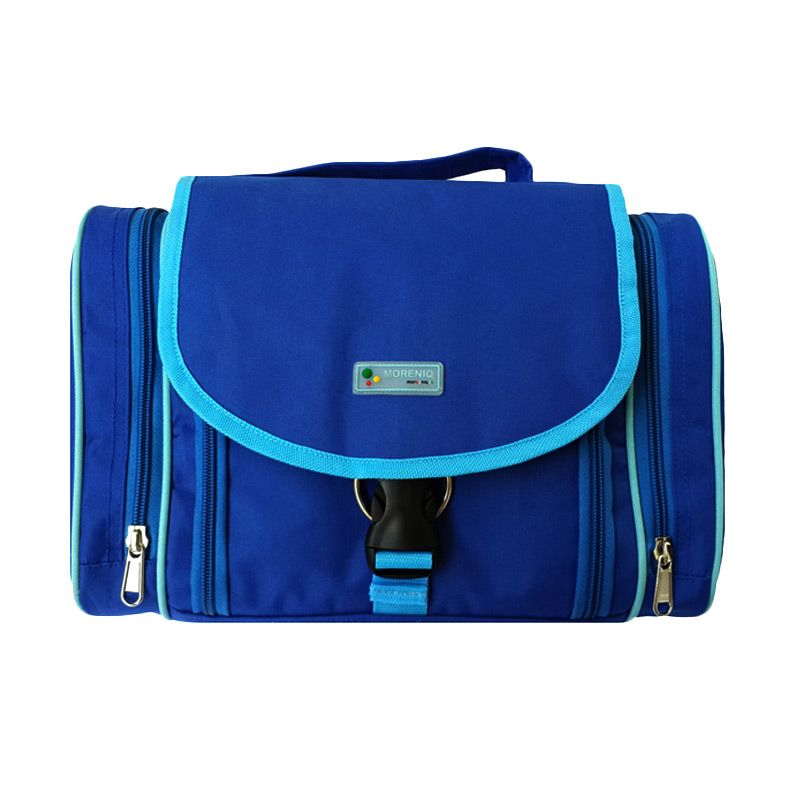 Moreniq TTB-B Biru Toiletries Bag Tas Multifungsi