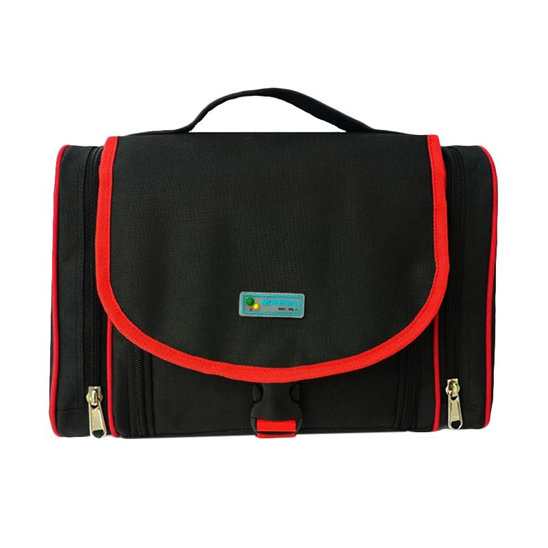 Moreniq TTB-B Hitam Toiletries Bag Tas Multifungsi