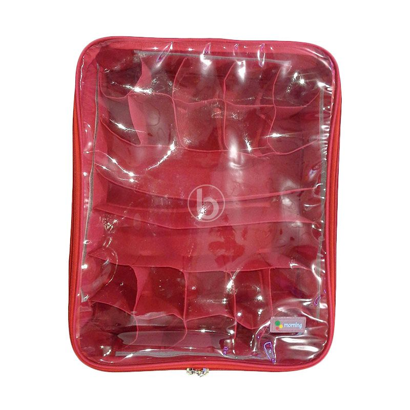 Morning UCO-B Merah Underwear Case Organizer