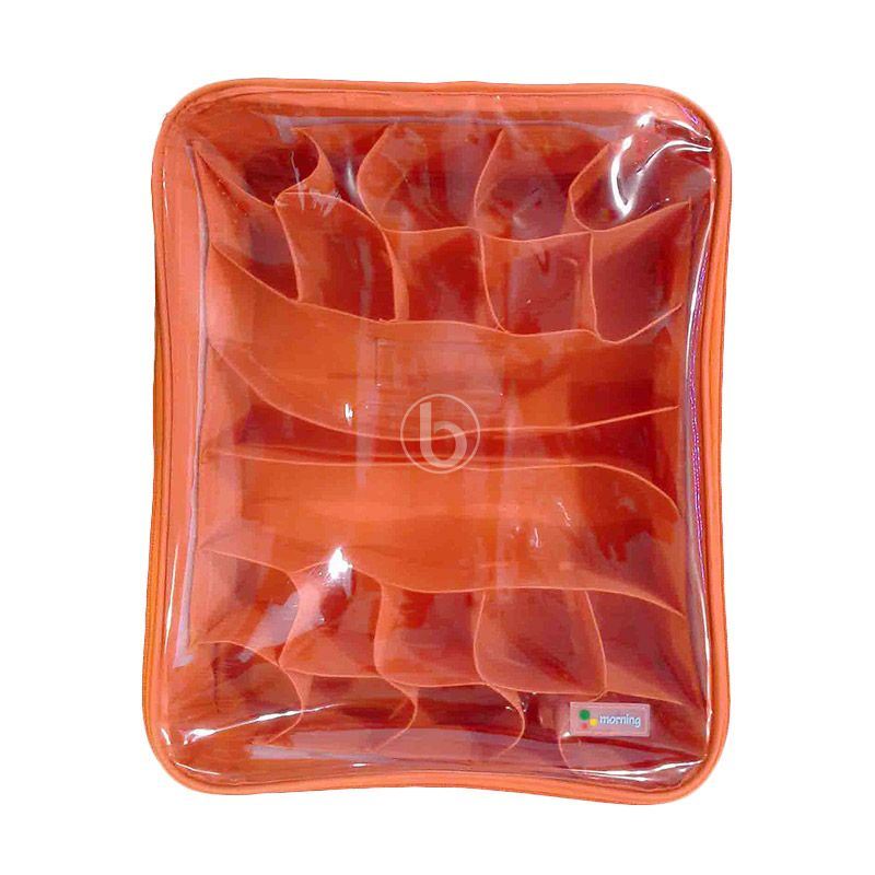 Morning UCO-B Orange Underwear Case Organizer