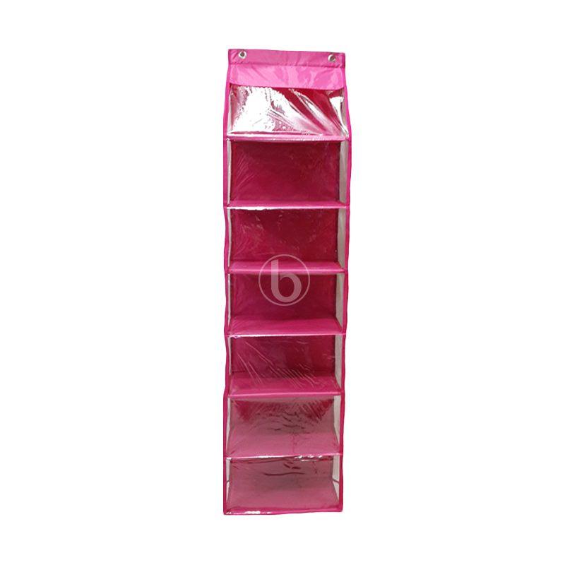Moreniq HSJZ-B Pink Hanging Shoes Oragnizer