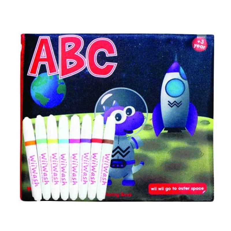 Wiiwash Washable Book SET - ABC VOL.2