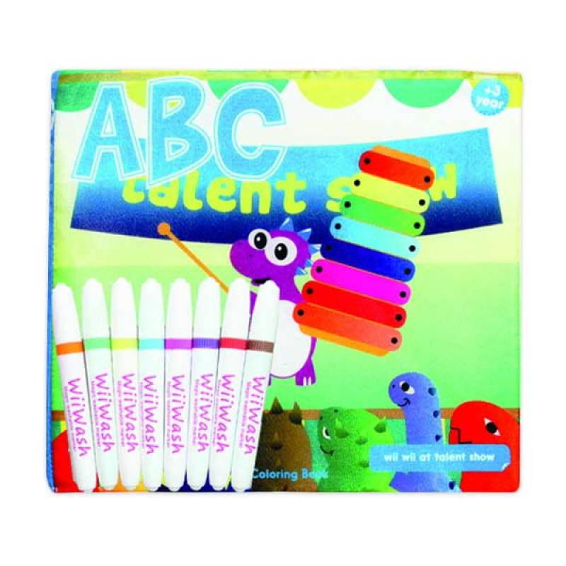 Wiiwash Washable Book SET - ABC VOL.3