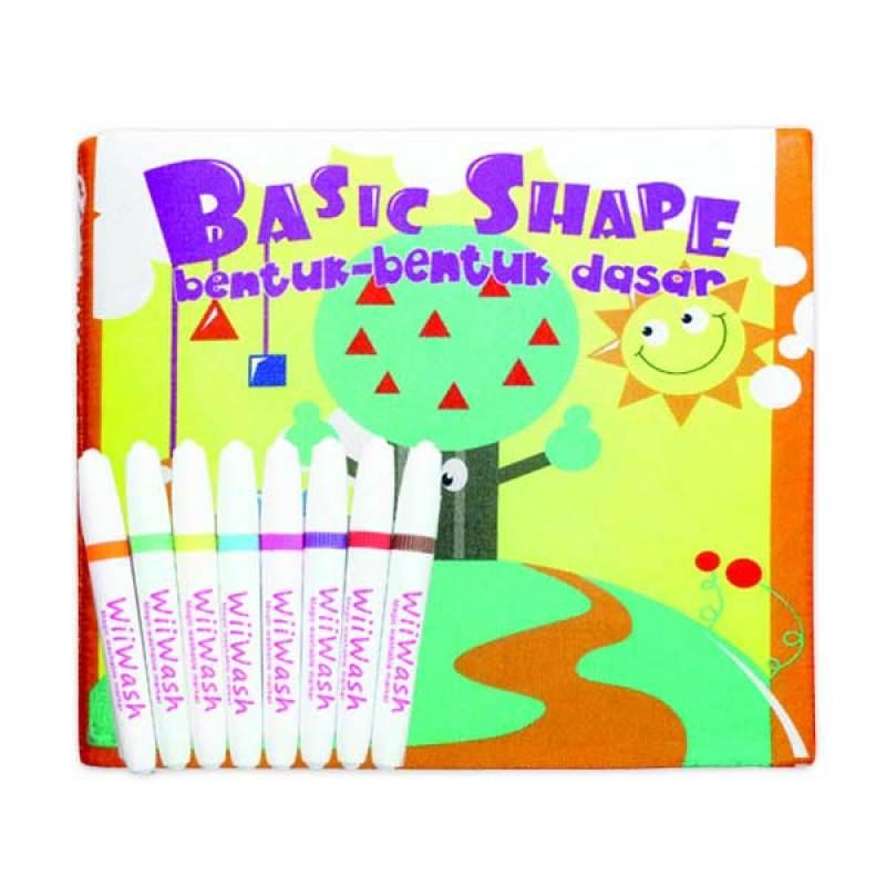 Wiiwash Washable Book Set - Basic Shape Combination