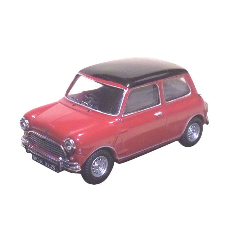 Vitesse Mini Cooper Morris S 1963 Merah Diecast