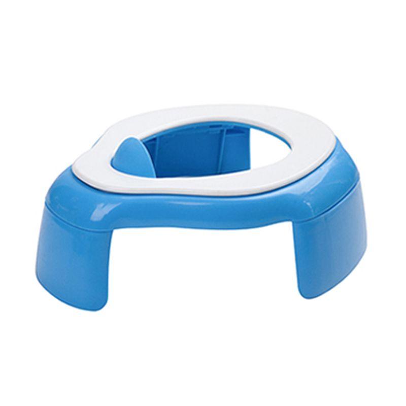 Kidsmile Travel Potty ZBB80 Blue Toilet Training [2 in 1]