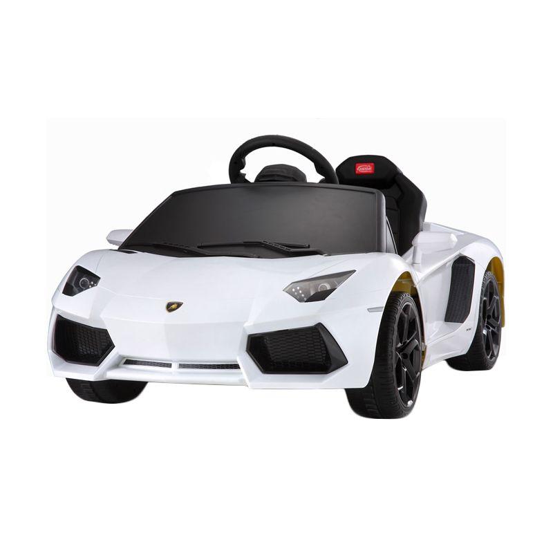 Rastar Lamborghini Aventador White Mainan Anak