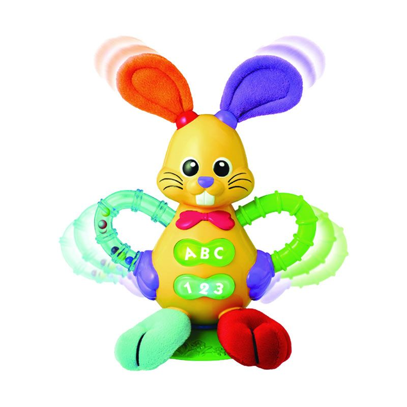 Winfun Bright Bunny Rattle 0610-01