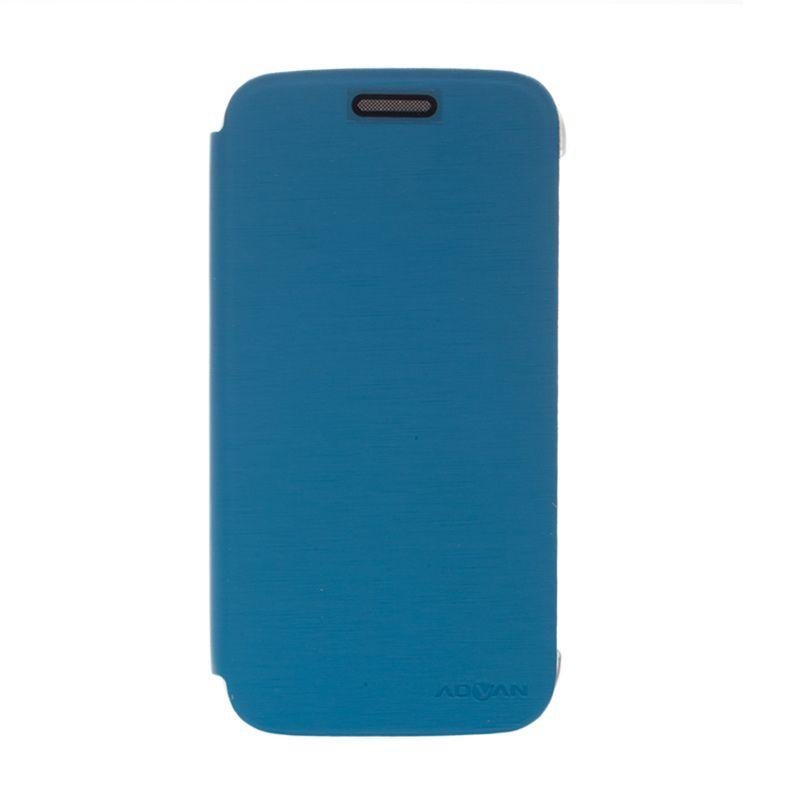 Advan Flip Cover Biru Casing for Advan S5E [Original]
