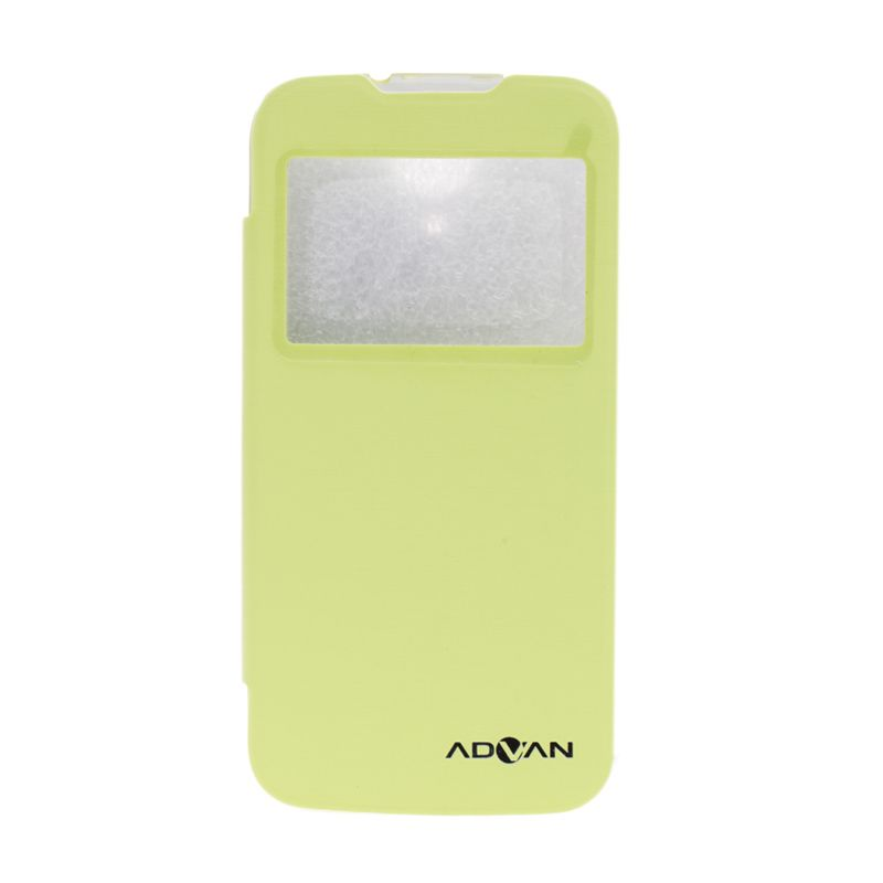 Advan Flip Cover Hijau Casing for Advan S5P [Original]