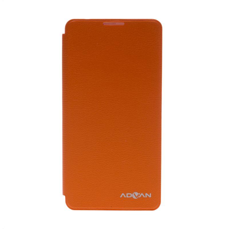 Advan Flip Cover Orange Casing for Advan S5i [Original]