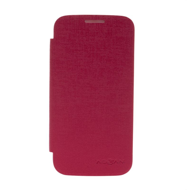 Advan Flip Cover Pink Casing for Advan S5H [Original]