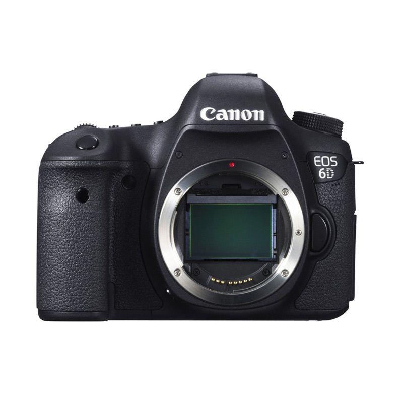Canon EOS 6D Kamera DSLR [Body Only/Wifi]