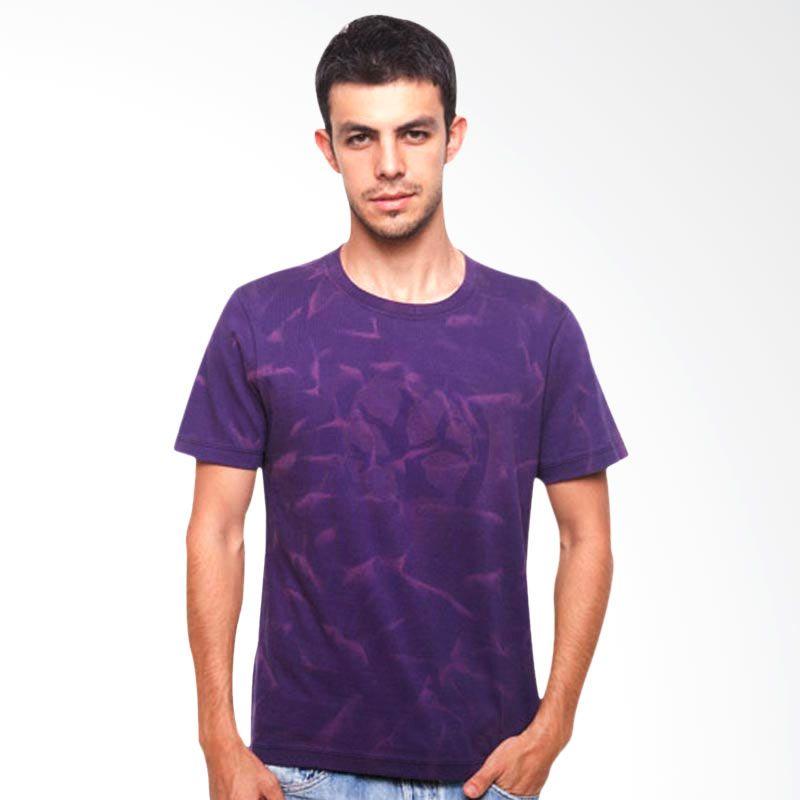 Wise Word Wear Basic T-Shirt Purple