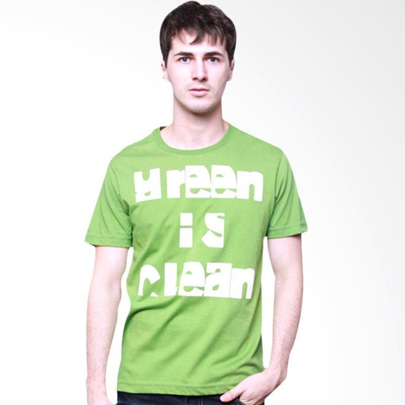 Wise Word Wear Green is Clean Tshirt